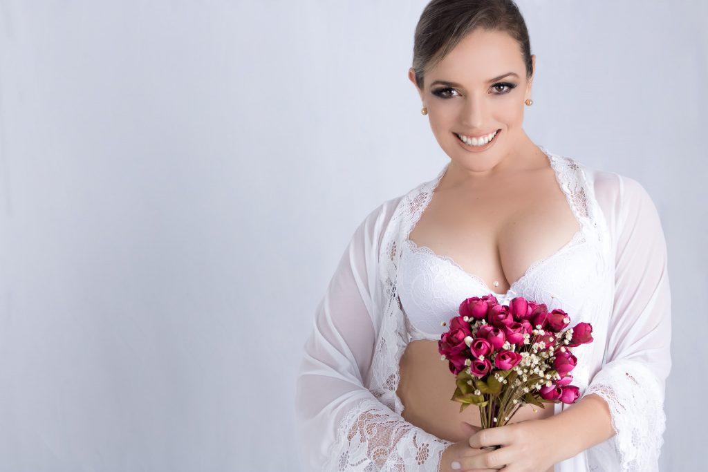 Ensaio Bridal Boudoir em Estúdio