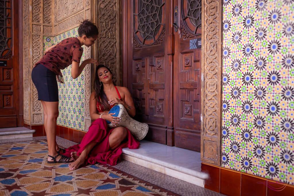 Making Of Ensaio de Dança do Ventre no Castelo